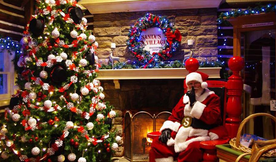 Christmastime | Santa's Village - Muskoka, Ontario Canada