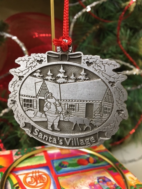 Tree Ornament | Santa's Village - Muskoka, Ontario Canada