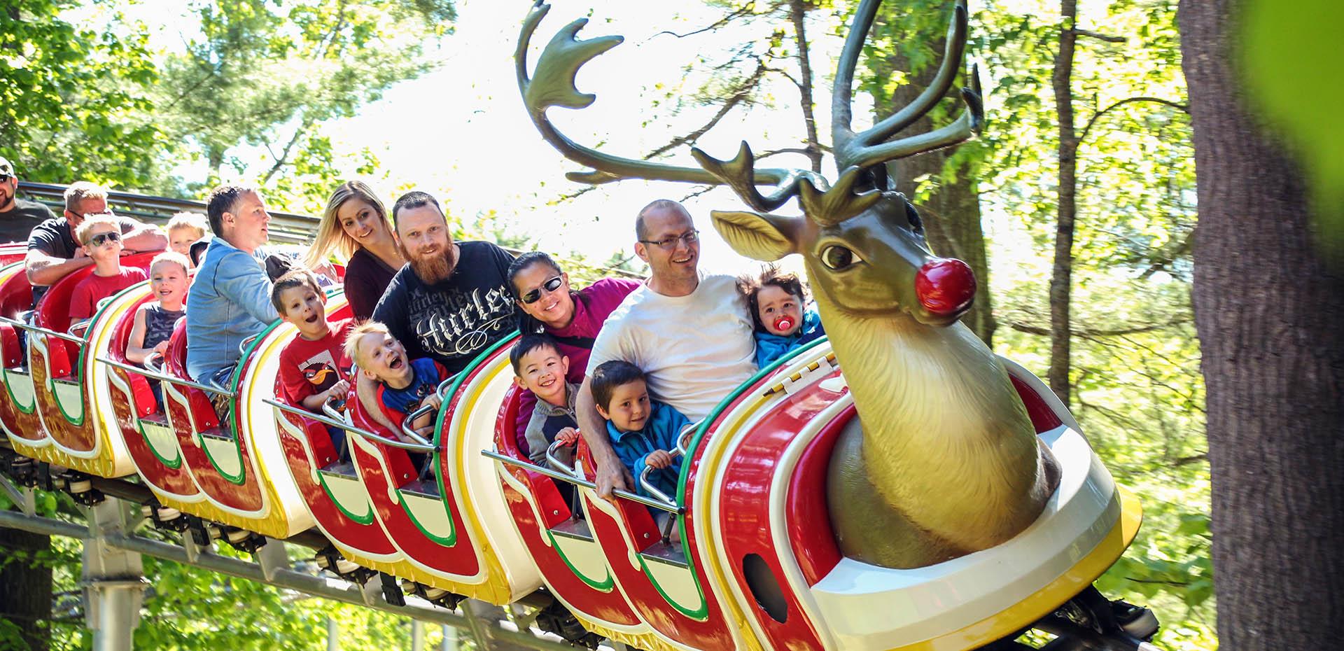 Ride Cover| Santa's Village - Muskoka, Ontario Canada