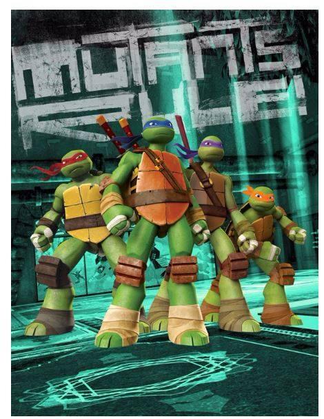 Teenage Mutant Ninja Turtles Meet & Greet   Santa's Village - Muskoka, Ontario Canada