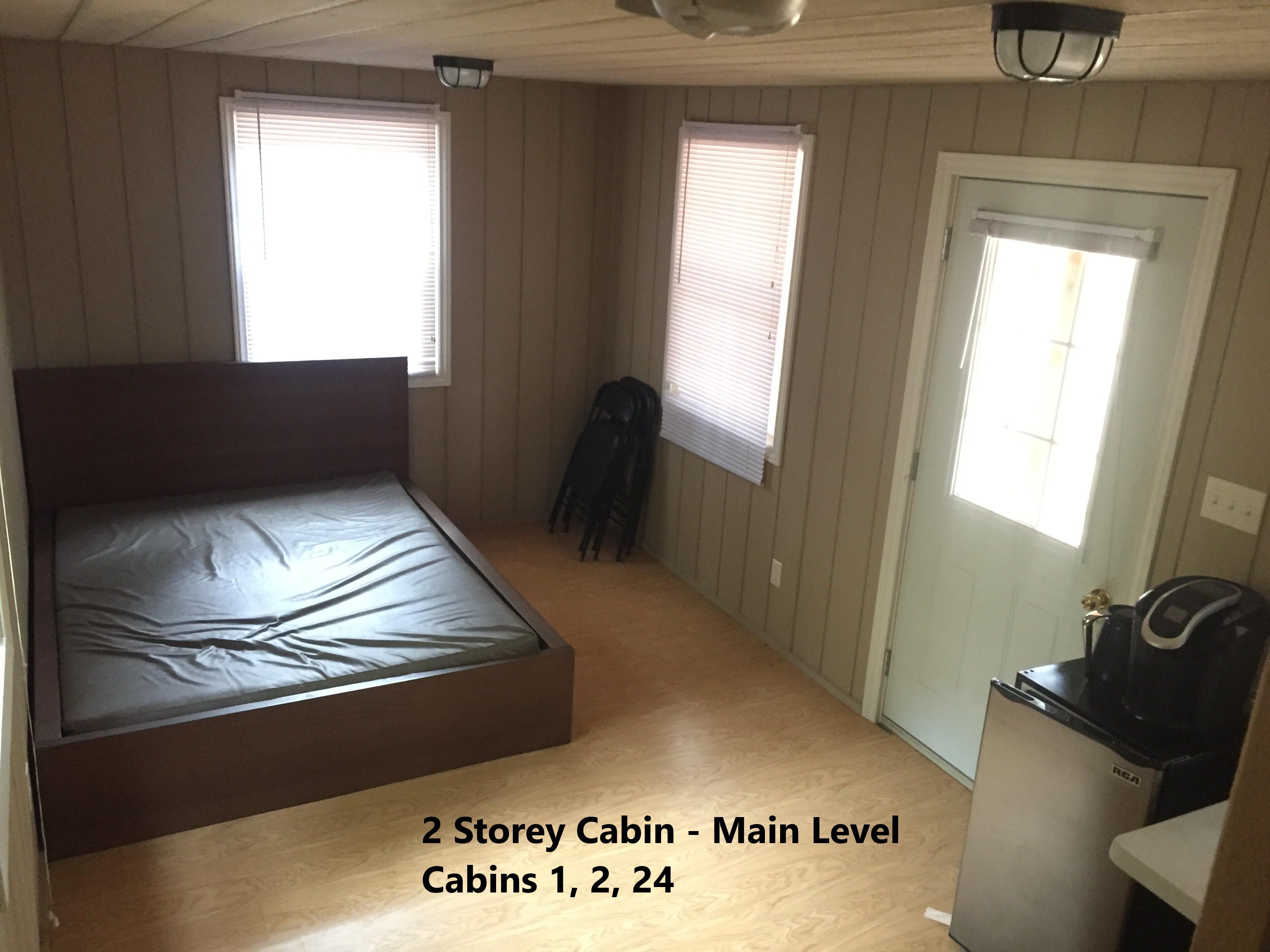 2 Storey Cabin Main Level - 1, 2, 24