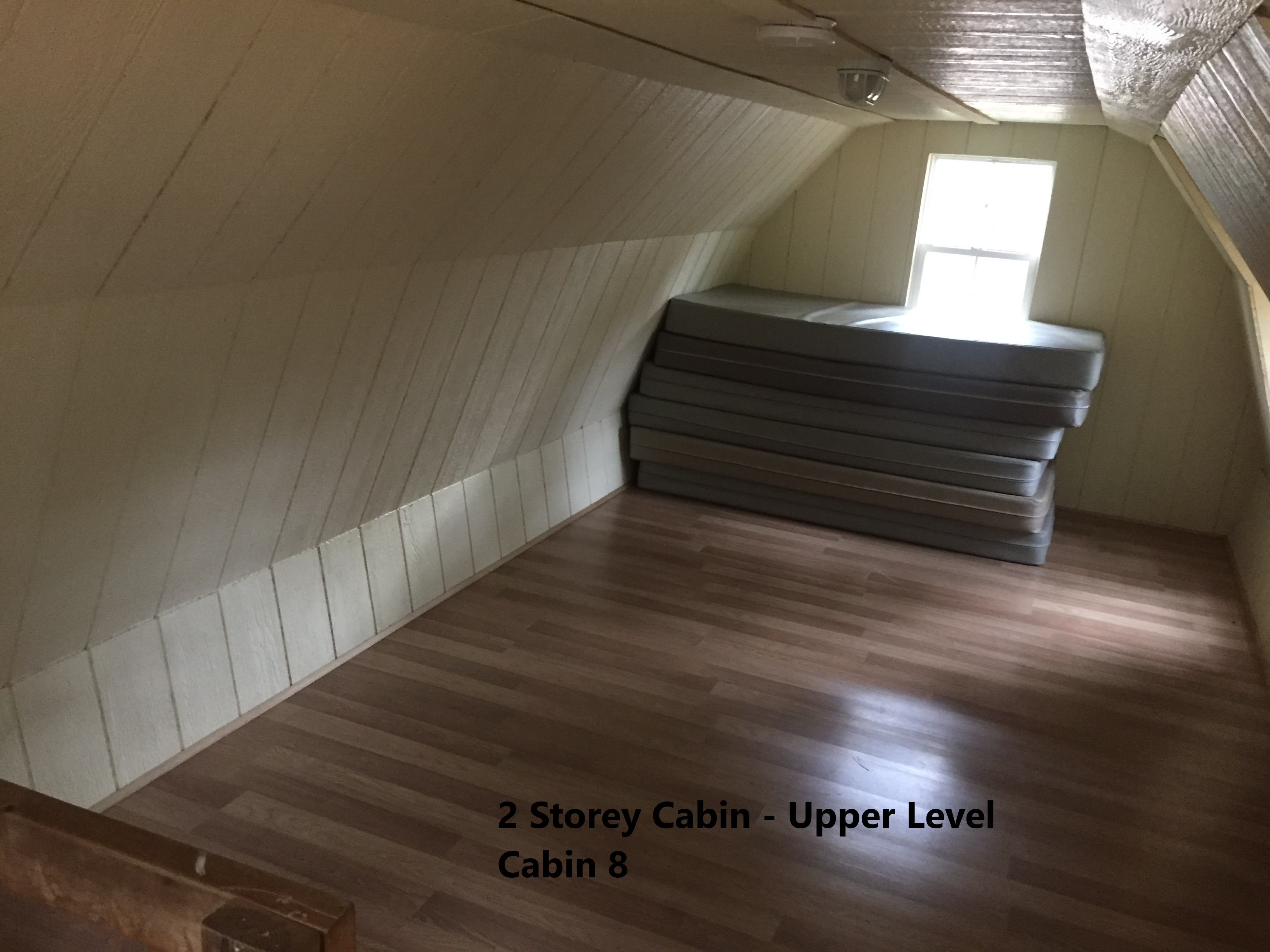 2 Storey Cabin Upper Level - Cabin 8