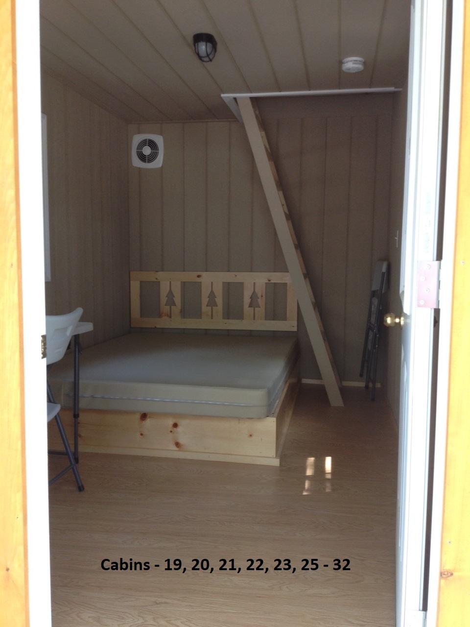 Loft Cabin - labelled