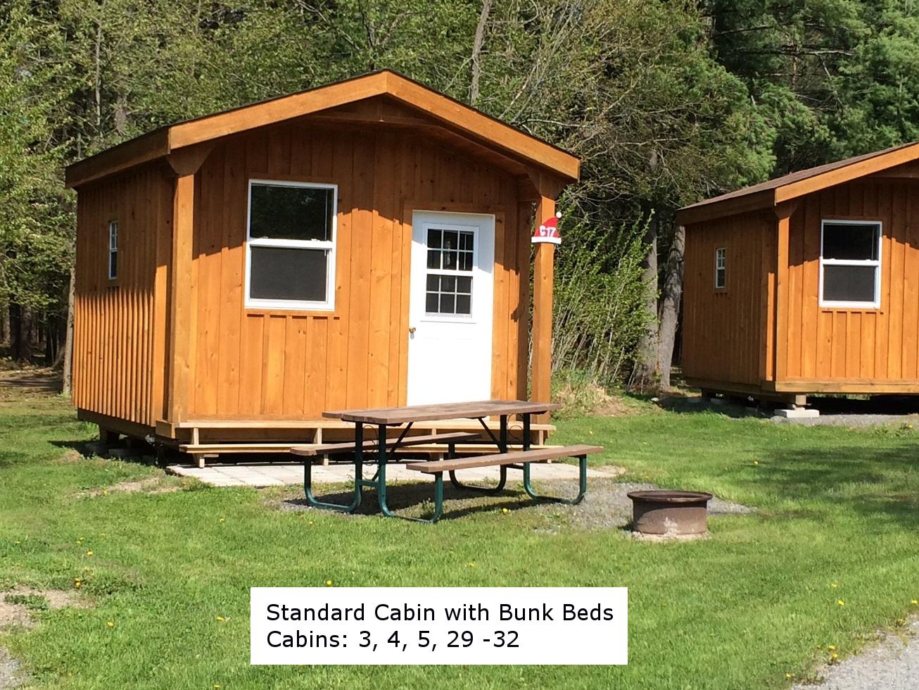 Cottages, Cabins & Yurts | Santa's Village Campground