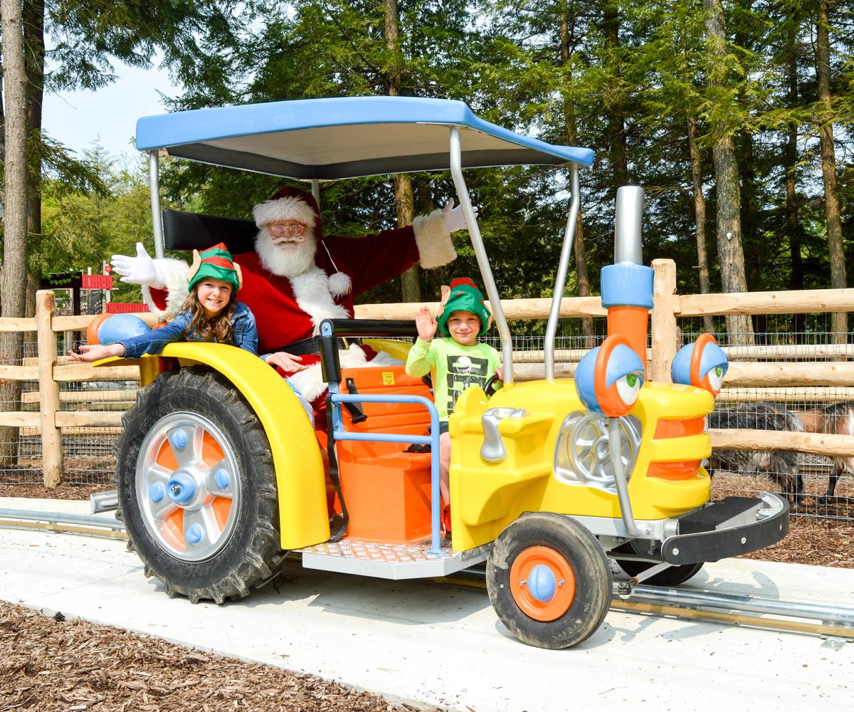 Santa's Farm Tractors