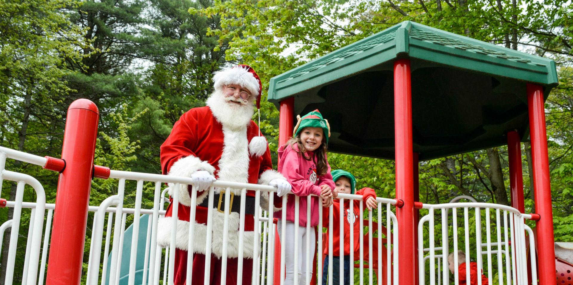 Santa playground