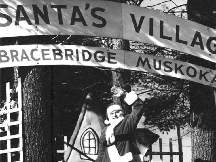 Vintage Santa's Village