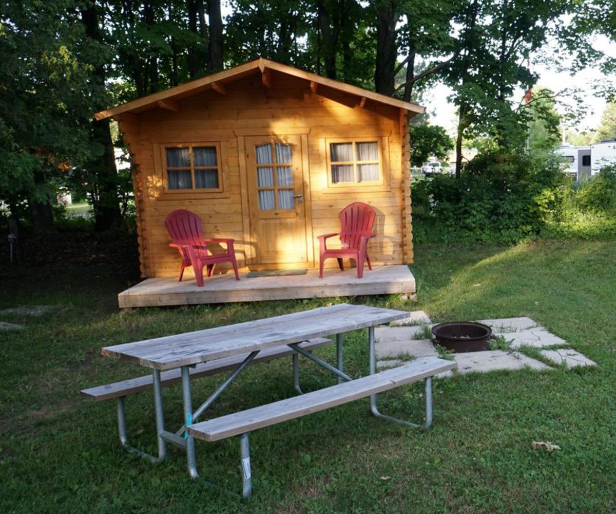 Santa's Muskoka Ridge cabin