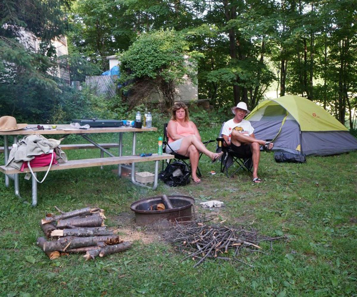 Santa's Muskoka Ridge tenting
