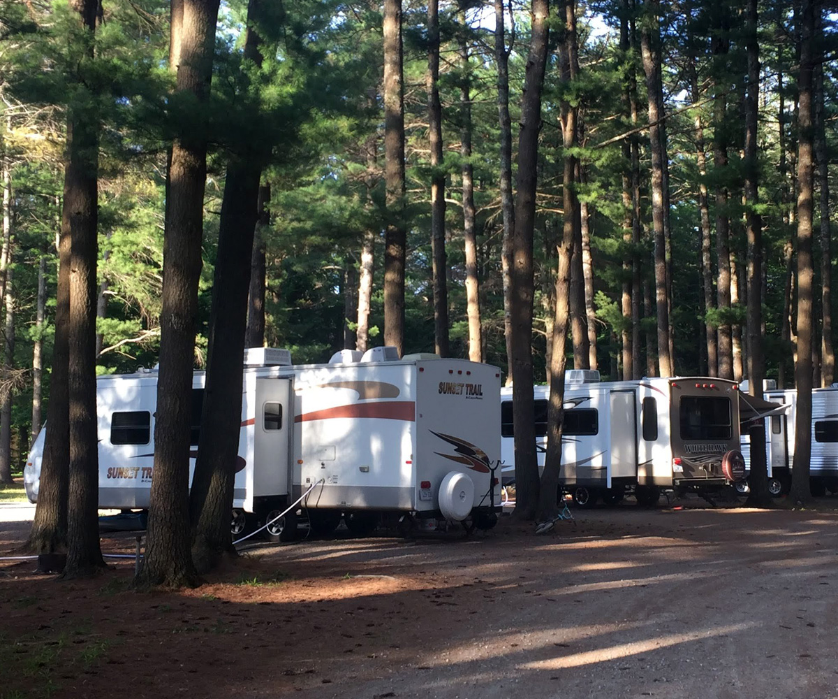Whispering Pines tenting